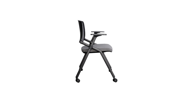 会议椅子-会议折叠椅-办公新闻记者椅