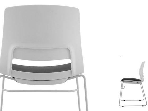 会议培训椅尺寸图