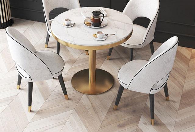 圆形4人洽谈桌—4人洽谈桌