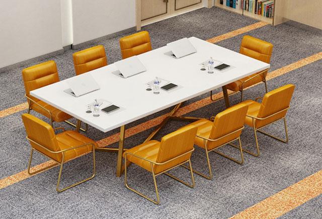 板式时尚开会桌 简约现代会议桌