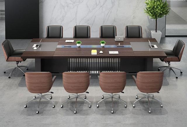 会议桌椅组合 板式洽谈桌长条 会