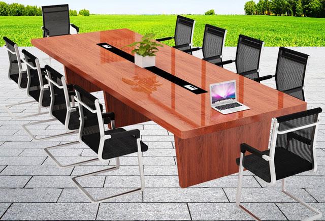 大型商务会议桌 实木喷漆会议桌