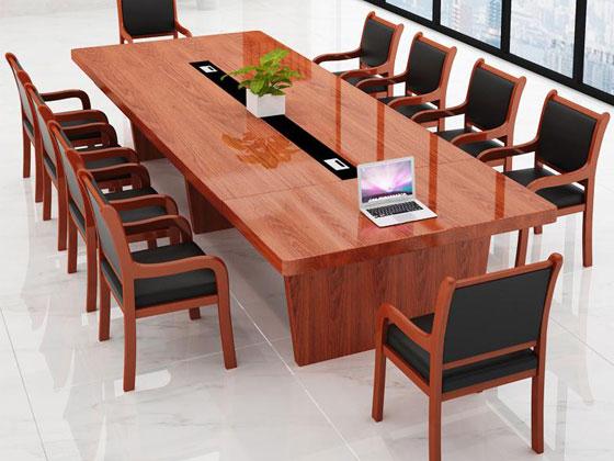 实木商务大型会议桌样式