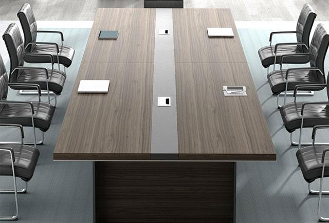 会议桌 长条形开会办公家具会客