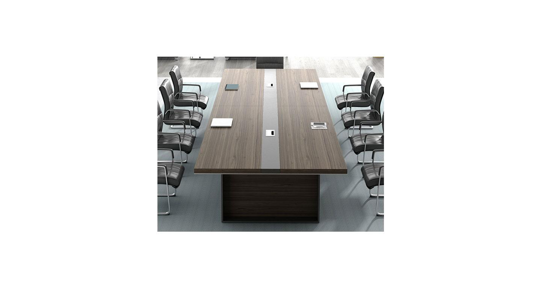 会议桌 长条形开会办公家具会客桌 洽谈培训桌