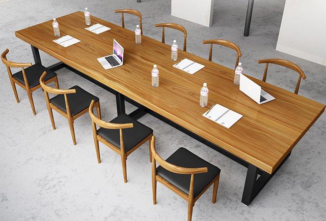 loft办公桌 大型会议室桌椅 现代