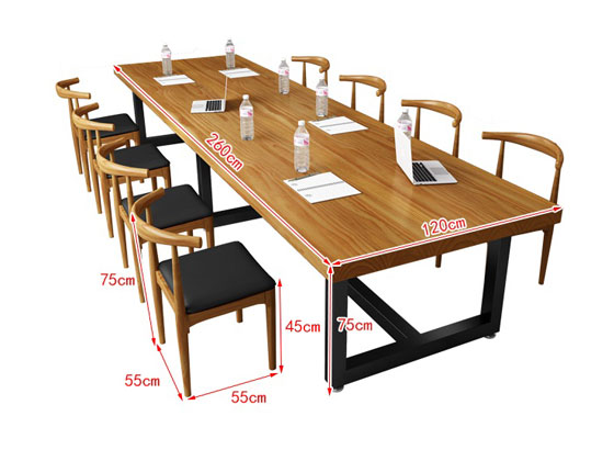 loft办公桌尺寸图