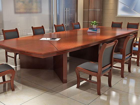 8人位简约会议桌样式