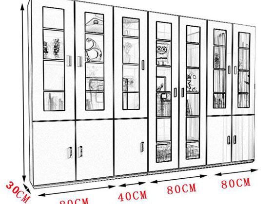 文件柜尺寸图