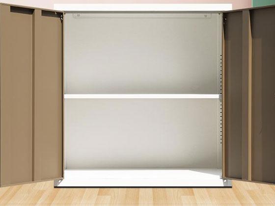 玻璃门矮式文件柜样式