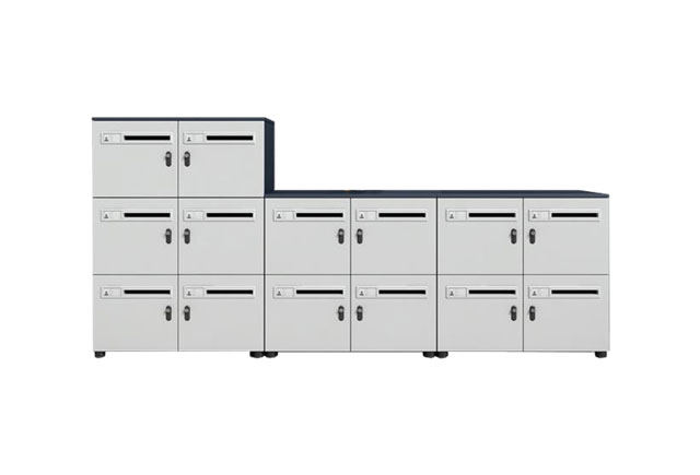 钢制格子柜―商场格子存放柜―商