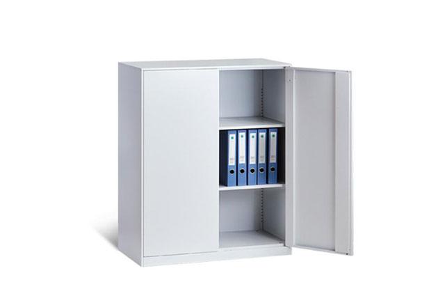 双开门带锁文件柜―钢制双开门带