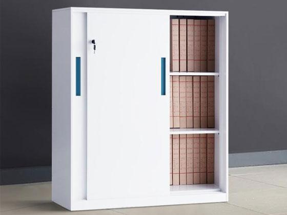 双开门带锁文件柜样式