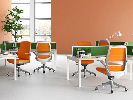 网布职员办公椅样式