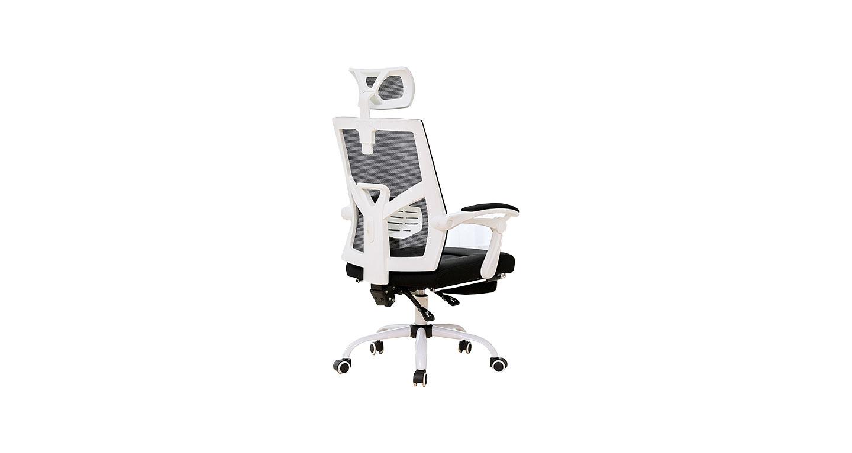职员办公转椅 黑色网布椅