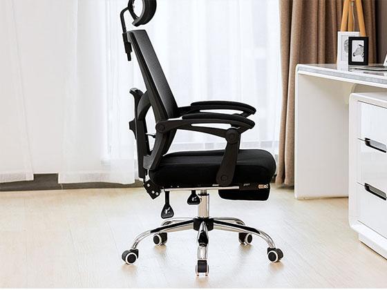 黑色网布椅样式