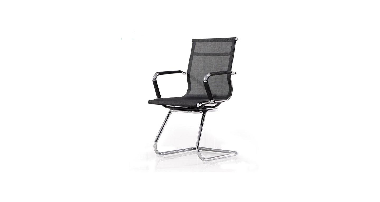 黑色办公椅 弓形椅