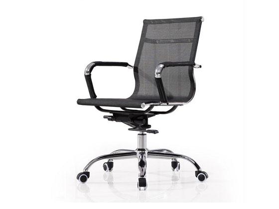 黑色办公椅样式