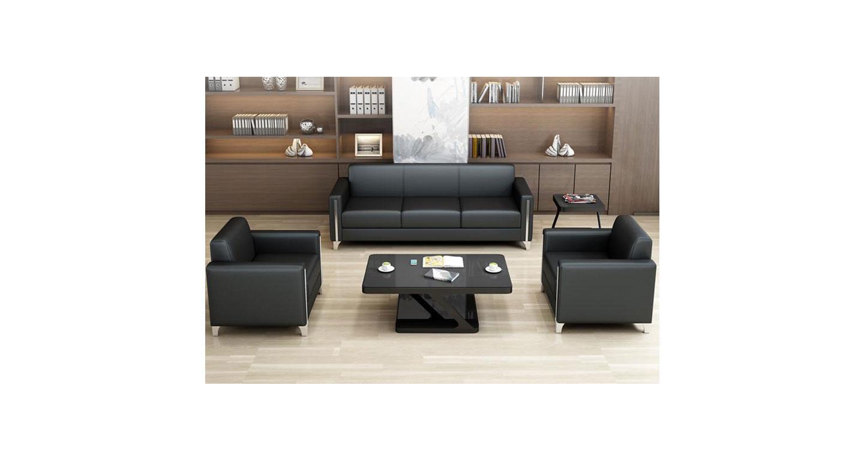 办公室沙发定做 沙发茶几配套组合