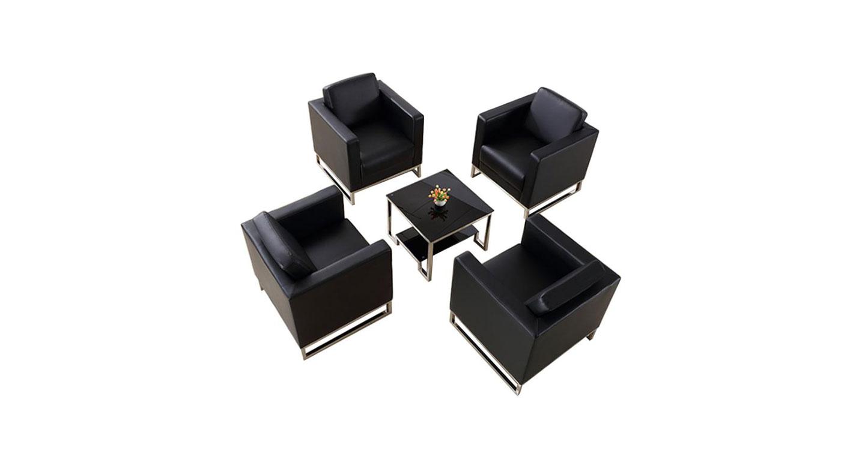 上海办公沙发椅 接待区沙发椅 单人沙发椅