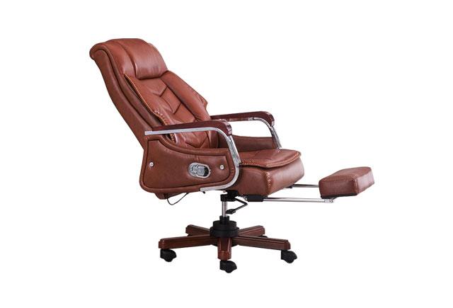 高背真皮大班椅 总裁室办公椅