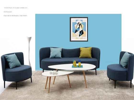 公司休息区沙发
