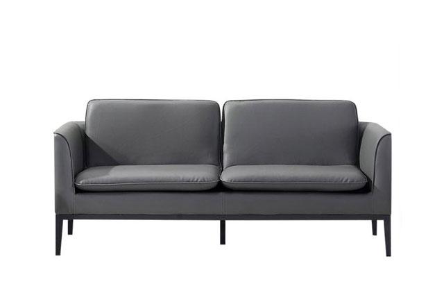 办公室会客区沙发 商务沙发茶几组合 咖啡色商务沙发 WSF014