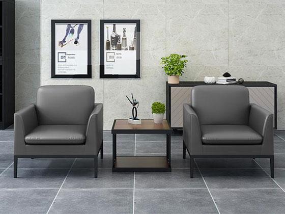 办公室会客区沙发