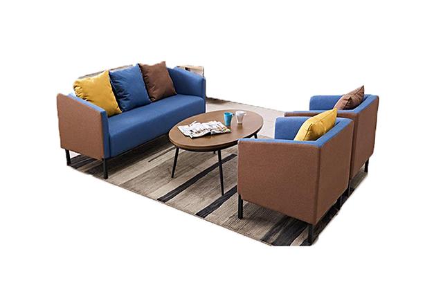 上海沙发采购定制 绿色布艺组合沙发 BYSF022