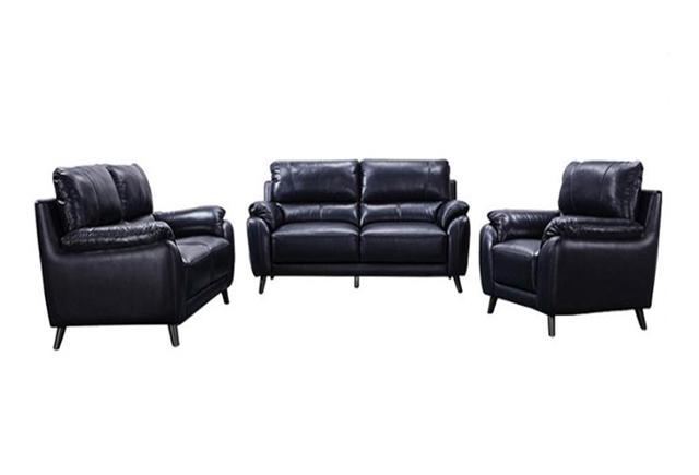 上海商务沙发 真皮办公沙发 商务沙发茶几组合 SF151103