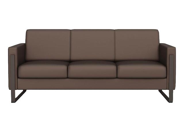 会客区沙发组合 政府办公沙发 商务接待真皮沙发 WSF023