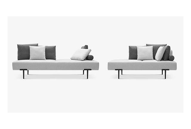 高档办公布艺沙发组合 米色接待沙发 BYSF014