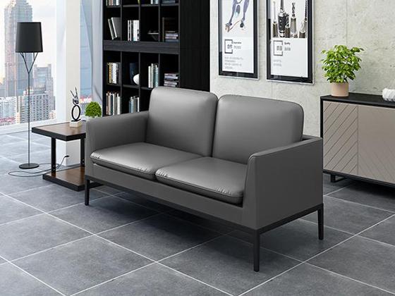 黑色商用沙发