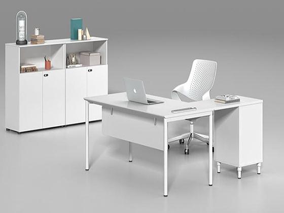 简约现代钢架办公桌