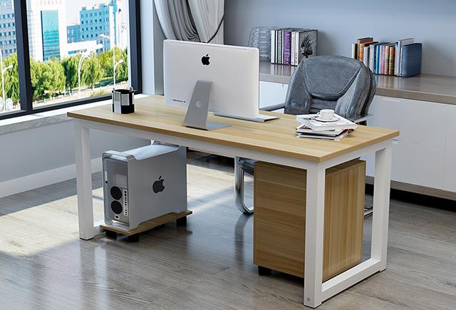 办公电脑桌-单人办公电脑桌-电脑办公桌