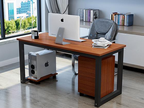 单人办公电脑桌