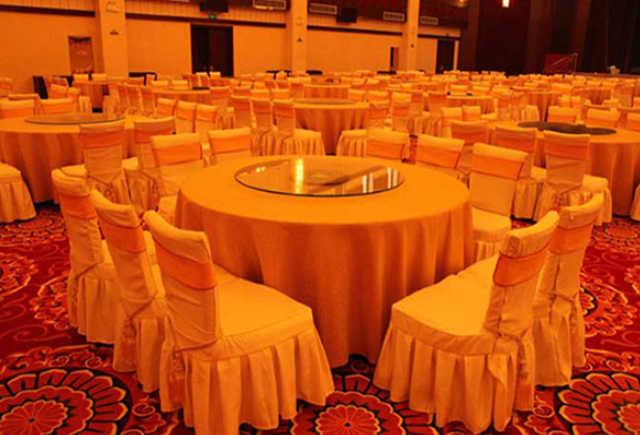 酒店宴会厅家具 酒店宴会餐桌椅