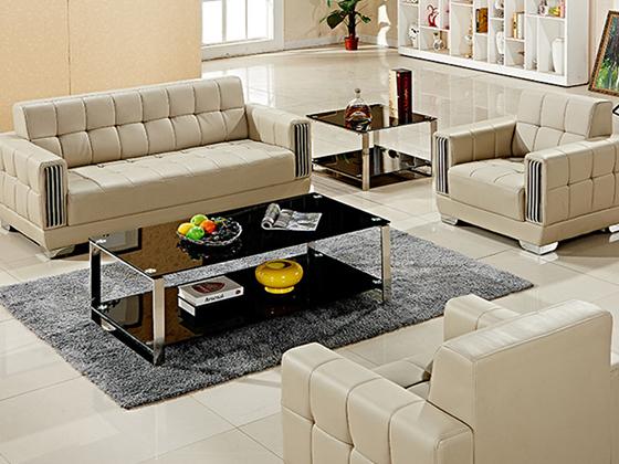 小型办公室的沙发-沙发定制厂家-品源办公沙发