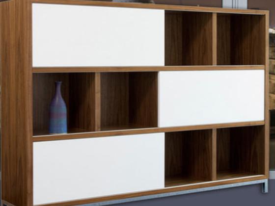 木制展示柜定制-品源展柜定制