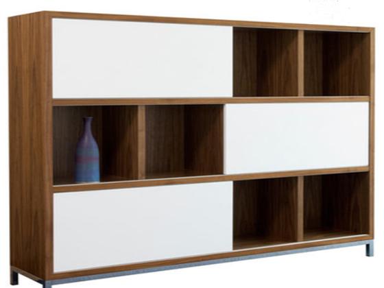 学校实木展示柜-品源实木展柜