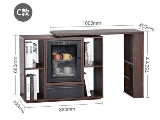 办公实木用茶水柜