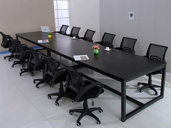 现代办公室会议桌-会议桌尺寸-品源会议桌