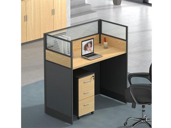 六人屏风隔断办公桌-屏风办公桌-品源办公桌