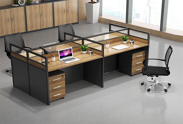 办公桌职员卡座-职员办公桌卡座-职员办公桌卡座样式