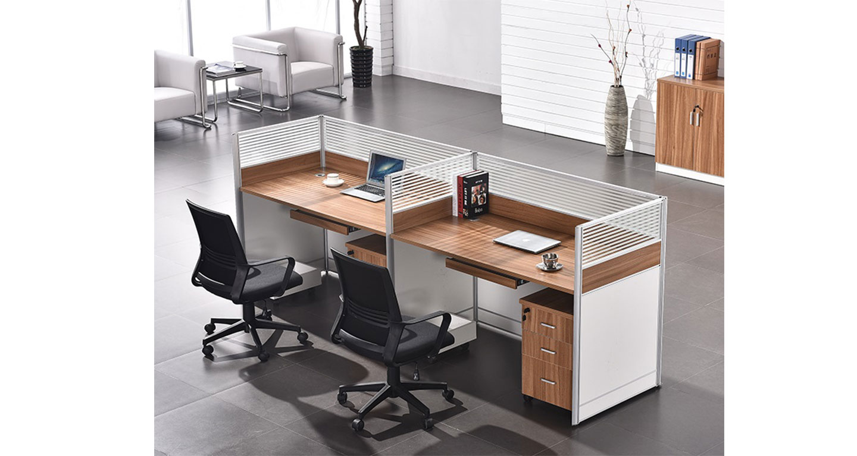 办公桌铝合金隔断-屏风办公桌-品源办公桌