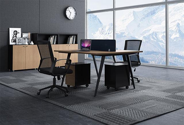 公司职员办公桌样式_公司办公电脑桌_公司组合办公桌