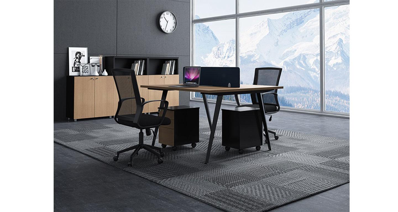 公司职员办公桌样式-屏风办公桌-品源办公桌