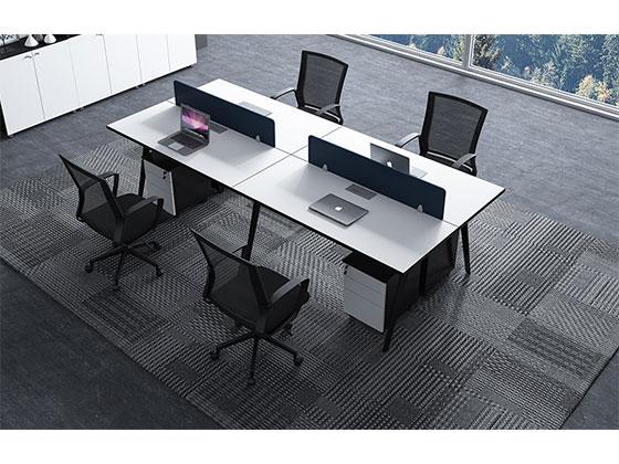 公司办公电脑桌-屏风办公桌-品源办公桌