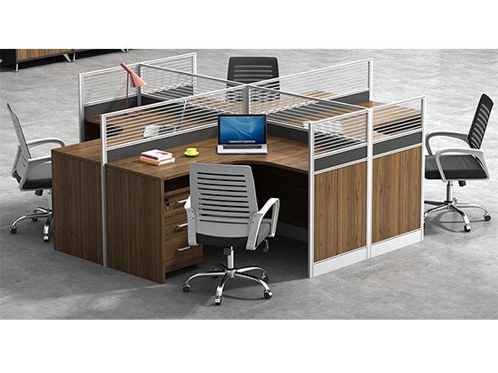 员工桌隔断-屏风式办公桌-品源办公桌