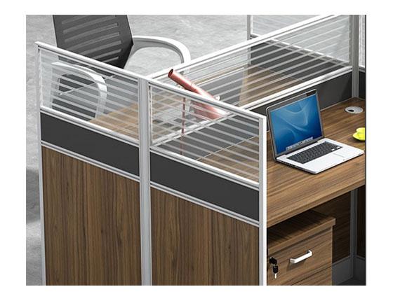 6人位屏风办公桌-隔断办公桌-品源办公桌